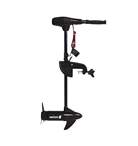 Newport Vessels 55 Pound Thrust 8 Speed Electric Trolling Motor - Best Electric Trolling Motor